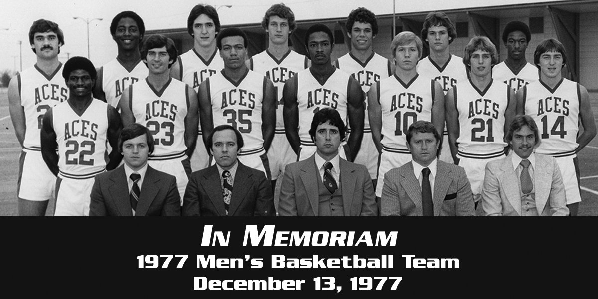 We will never forget the players, coaches, staff and flight crew we lost on December 13, 1977.  #AcesAces https://t.co/1CbHFzGF1V