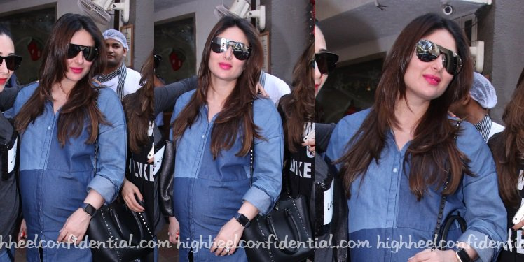 Kareena Kapoor in @bhanelove and @MaisonValentino While Out And About