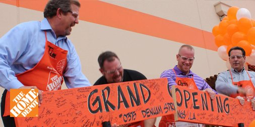 #Teamwork and #dedication help re-open our Denham Springs, Louisiana, store after #floods closed it for 68 days! http://thd.co/2fIJbt9