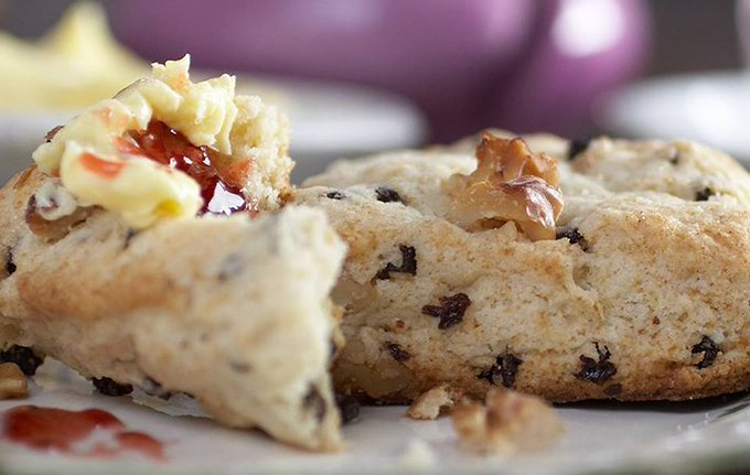 Crumbly and delectable Irish Kerrygold butter scones recipe