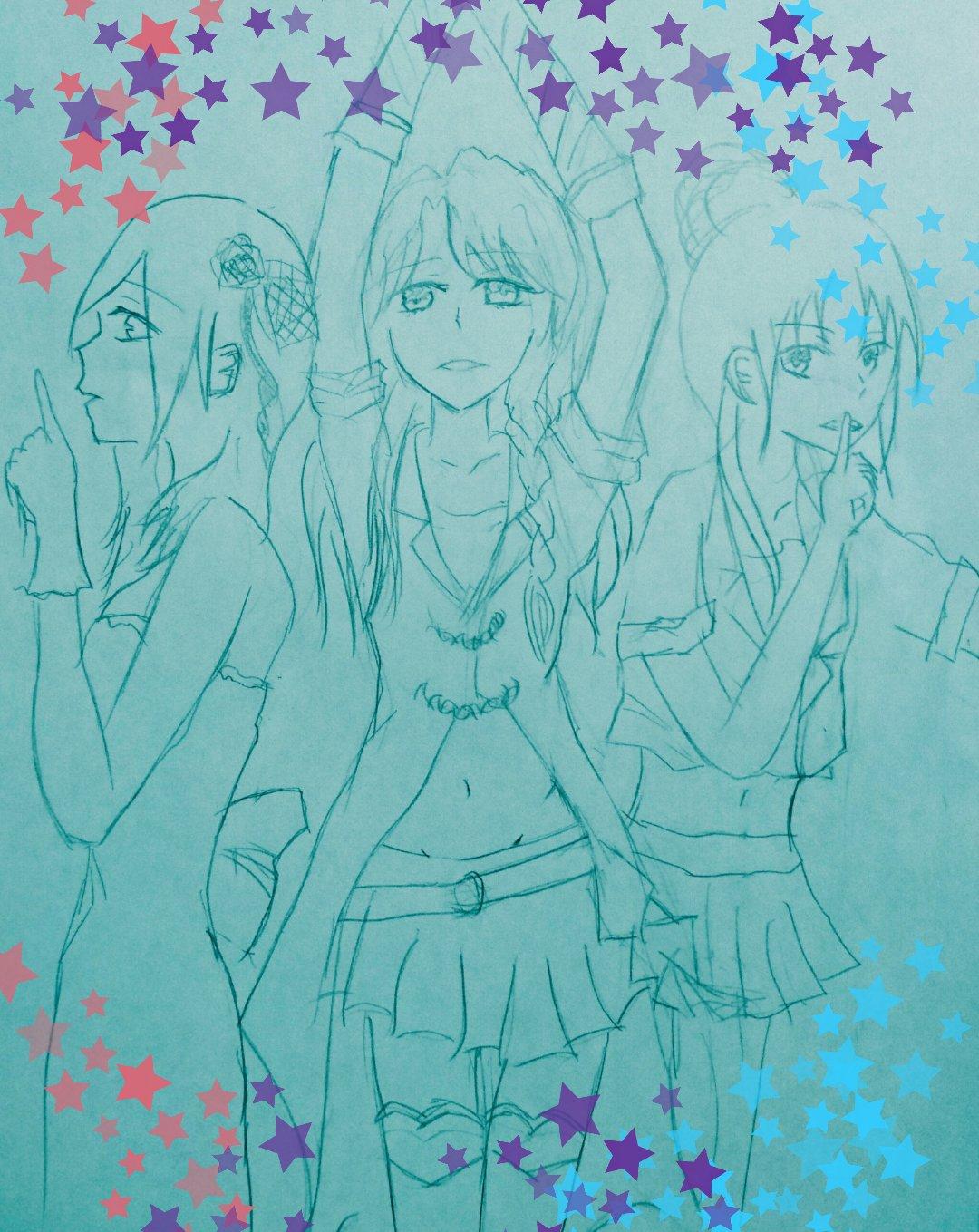 奏 Yuuki【お絵描き用】 (@Kanade001836)さんのイラスト