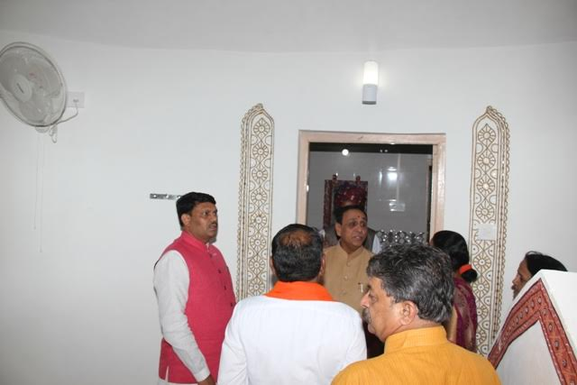 Gujarat CM dedicates traditional 'Bhunga' tourist stay unit in Rann of Kutch with modern touch