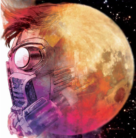 Man on the moon.  @sinKEVitch's Hip-Hop variant for STAR-LORD #1 is an homage to, ummm, @sinKEVitch. Out 12/21. https://t.co/KbXVJIBLsJ