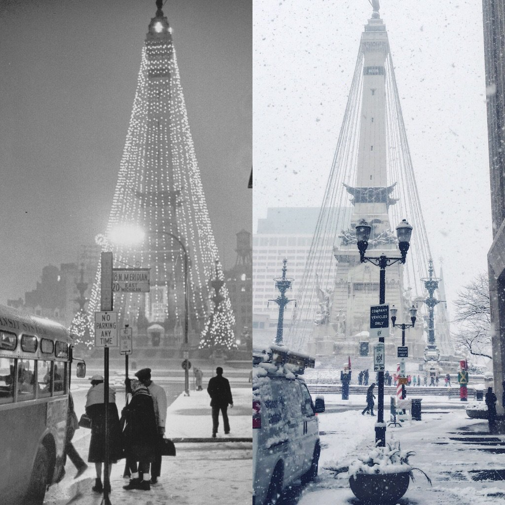 From the first Circle of Lights in 1962 to today, its beginning to look a lot like Christmas 1962