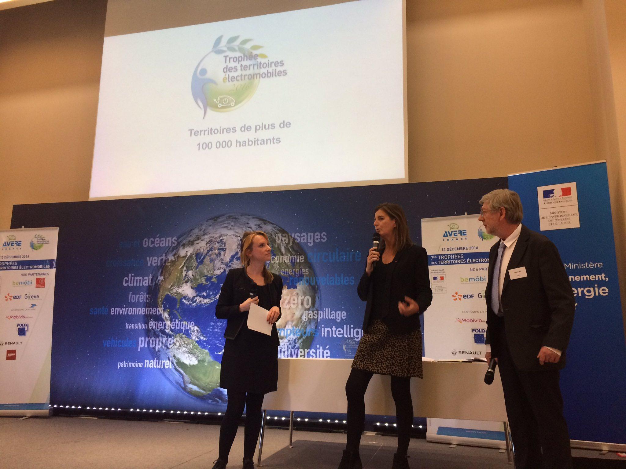 @Mobiviagroupe et @EDFofficiel  heureux de récompenser un territoire pionnier pour la #mobilité #électrique #TrophéesVE https://t.co/cMP4GswPVq