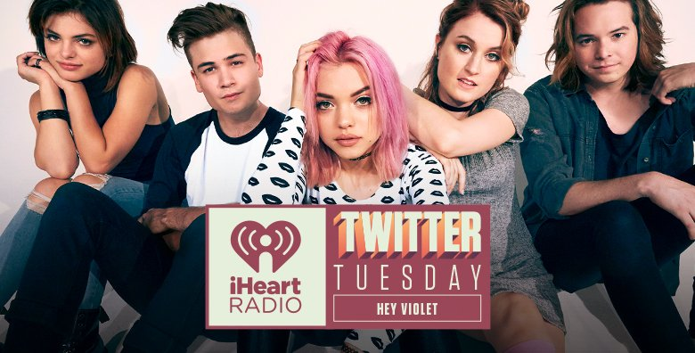 RIGHT NOW! @HeyViolet are taking over today the @iHeartRadio account! Ask them anything w/  #iHeartHeyViolet https://t.co/T3lrrnrwAI