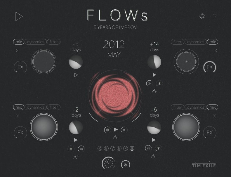 Here is FLOWs - an algorithmic loop sequencer. Grab it for free or donate https://t.co/I0ZEBdCsZG https://t.co/sBWKJC96Q9