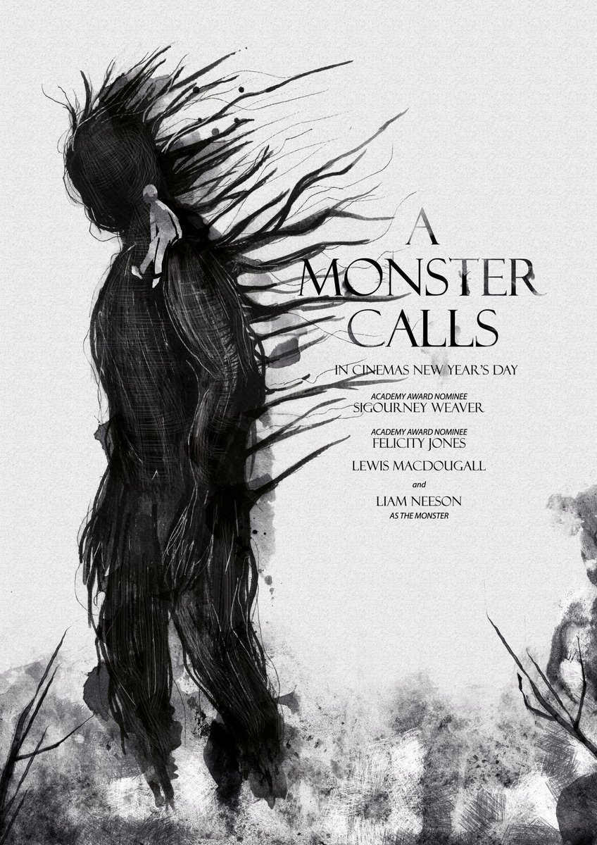 a monster calls dansk