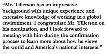 Isakson Statement on Nomination of Rex Tillerson as Secretary of State https://t.co/rcjgyvmz6I