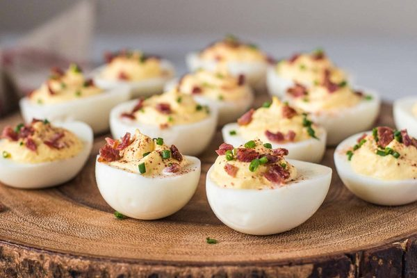 Sour Cream and Bacon Deviled Eggs Recipe