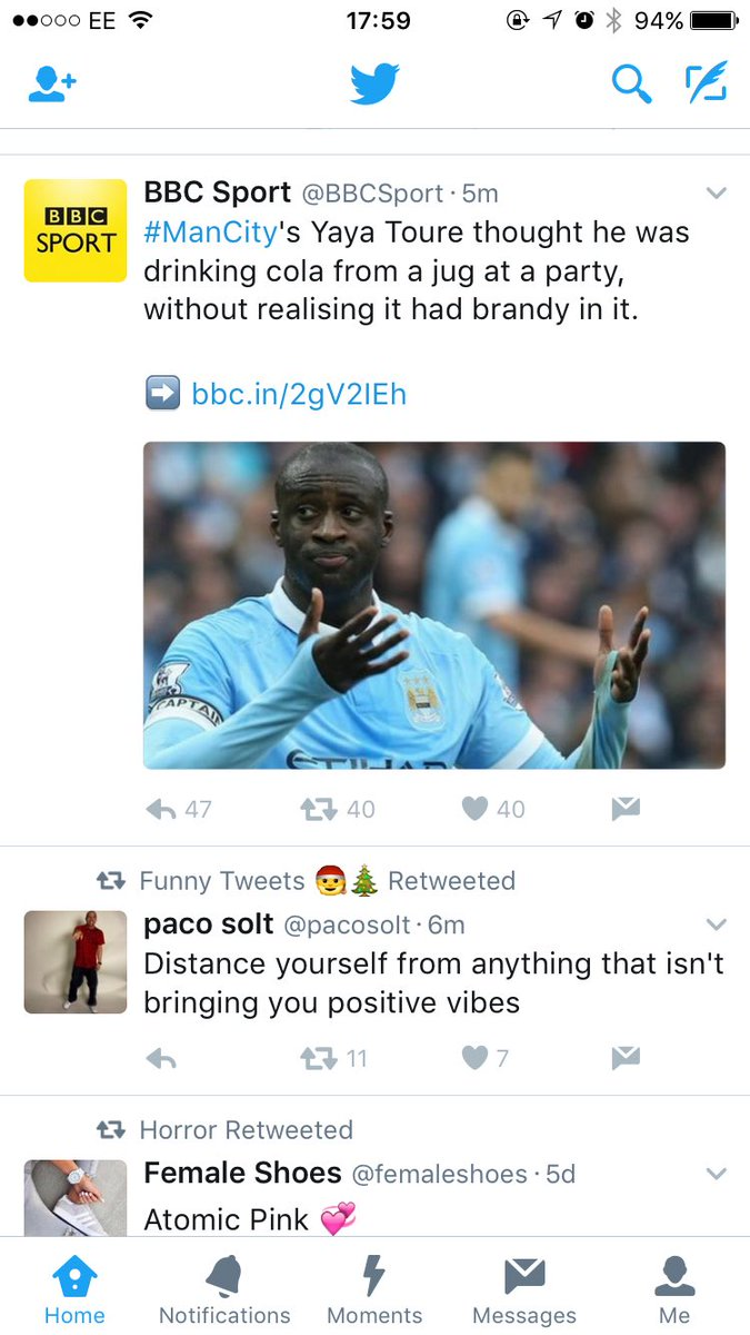 Ha ha. Come on Yaya. Just hold your hands up. I once thought I was eating a salad from a Chinese buffet https://t.co/6dlTJbgkVg