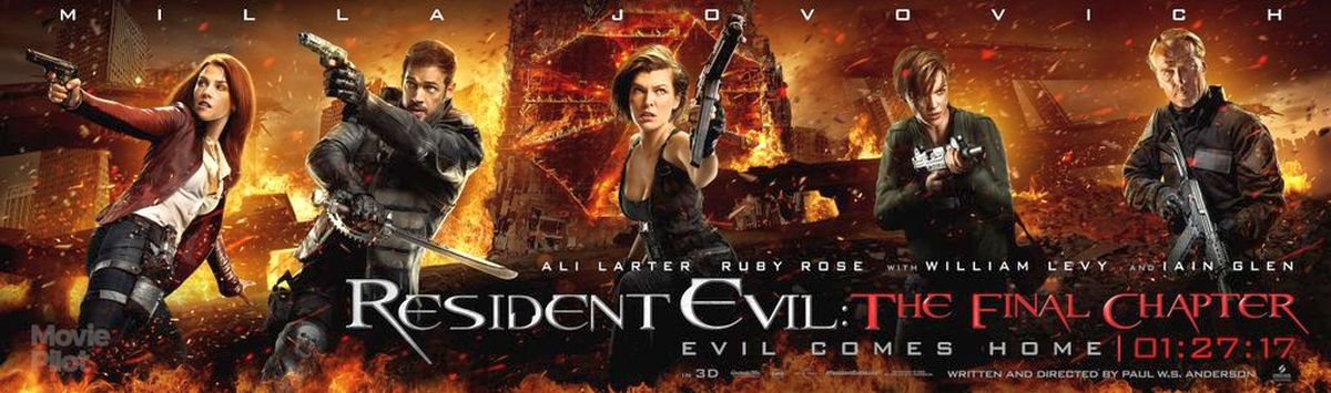 Resident Evil The Final Chapter Character Posters Revealed