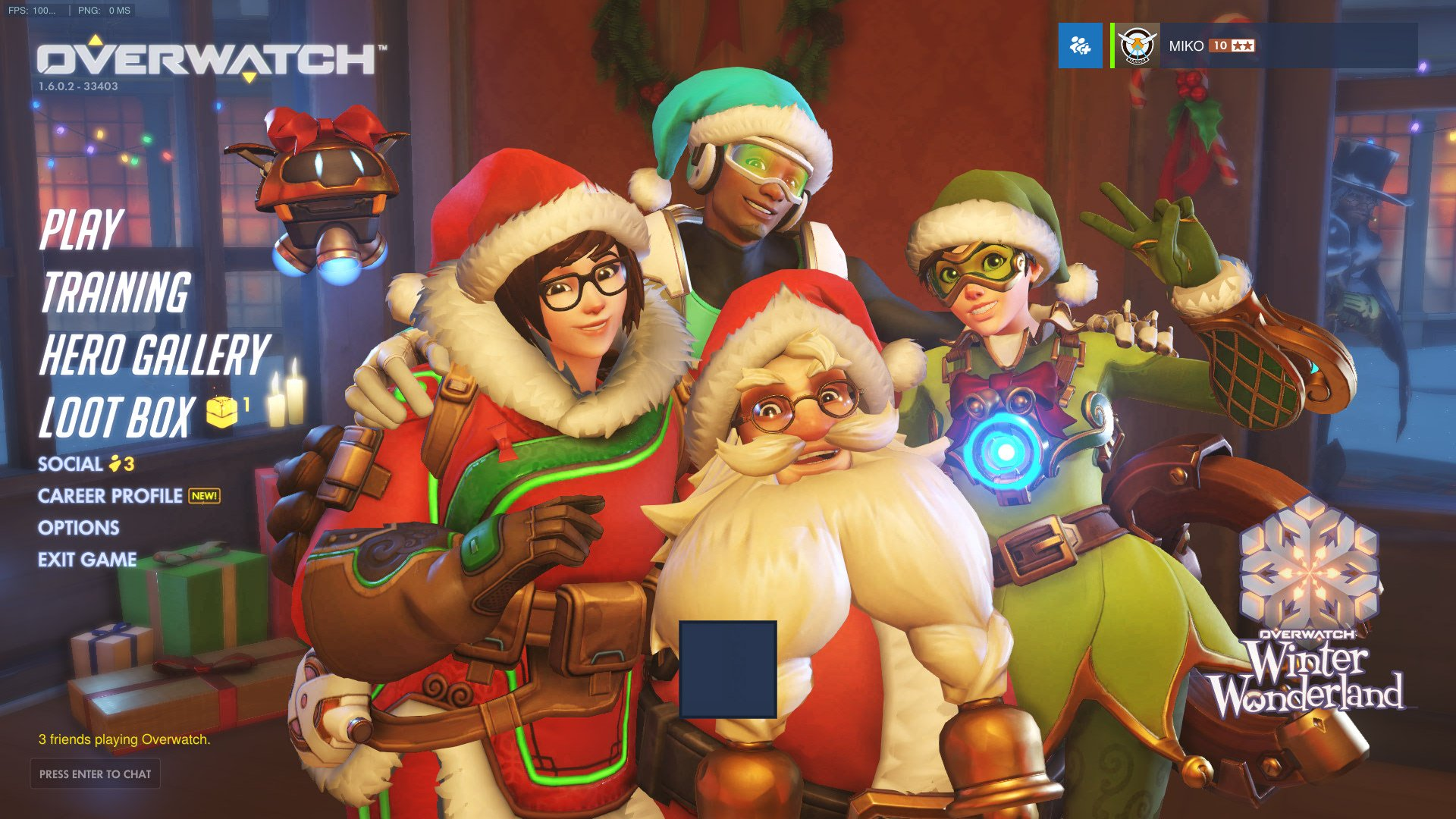 Overwatch : Winter Wonderland