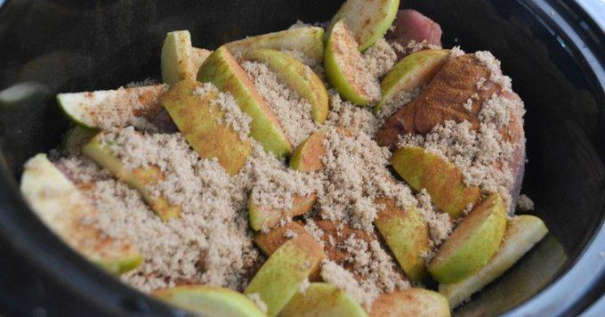 Crockpot Pork and Apples