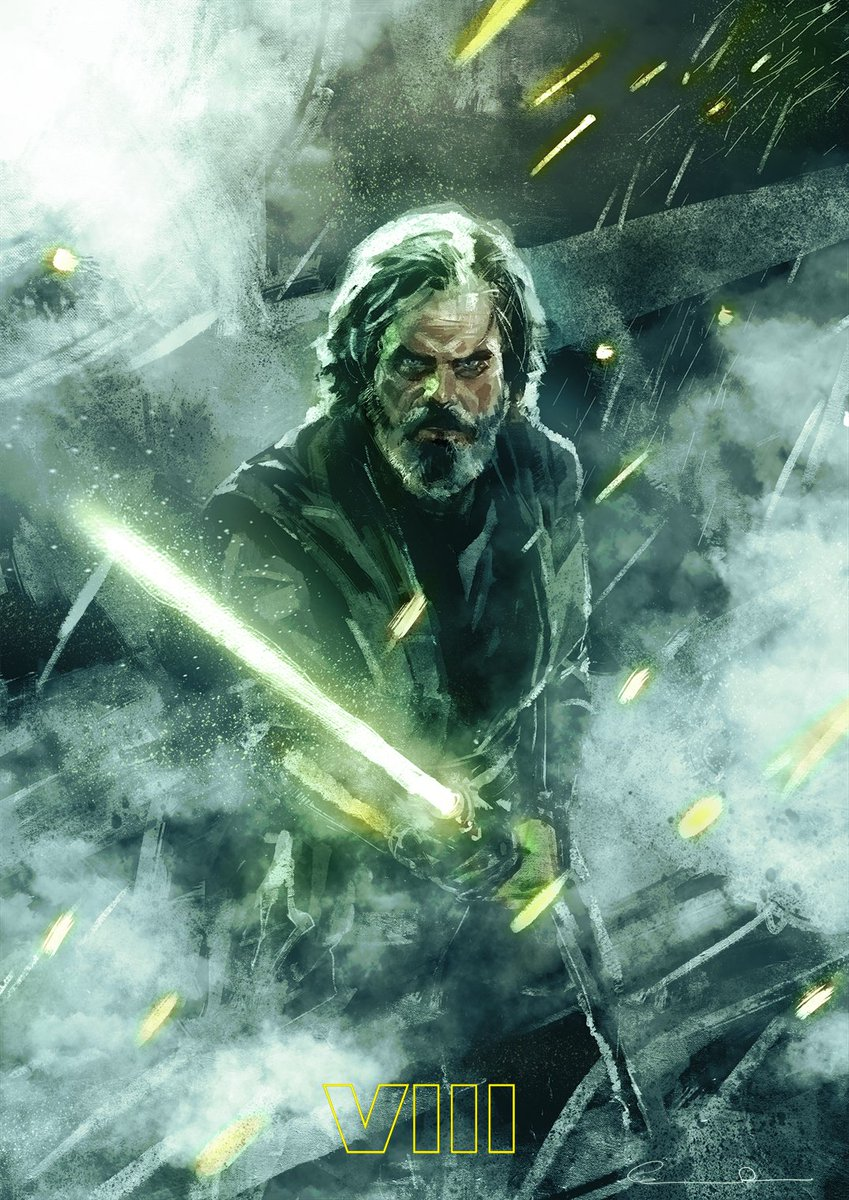 Christian Rosado On Twitter Luke Skywalker Fan Art Starwars Wacom Disney SW Insider Lukeskywalker MarkHamill