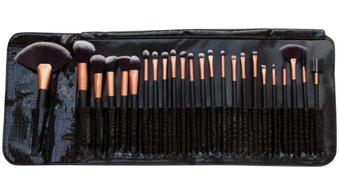 Buy Rio Professional 24 Piece Cosmetic Makeup Brush Set at Argos.co.uk