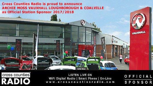 Cross Counties Radio on Twitter ARCHIE MOSS VAUXHALL