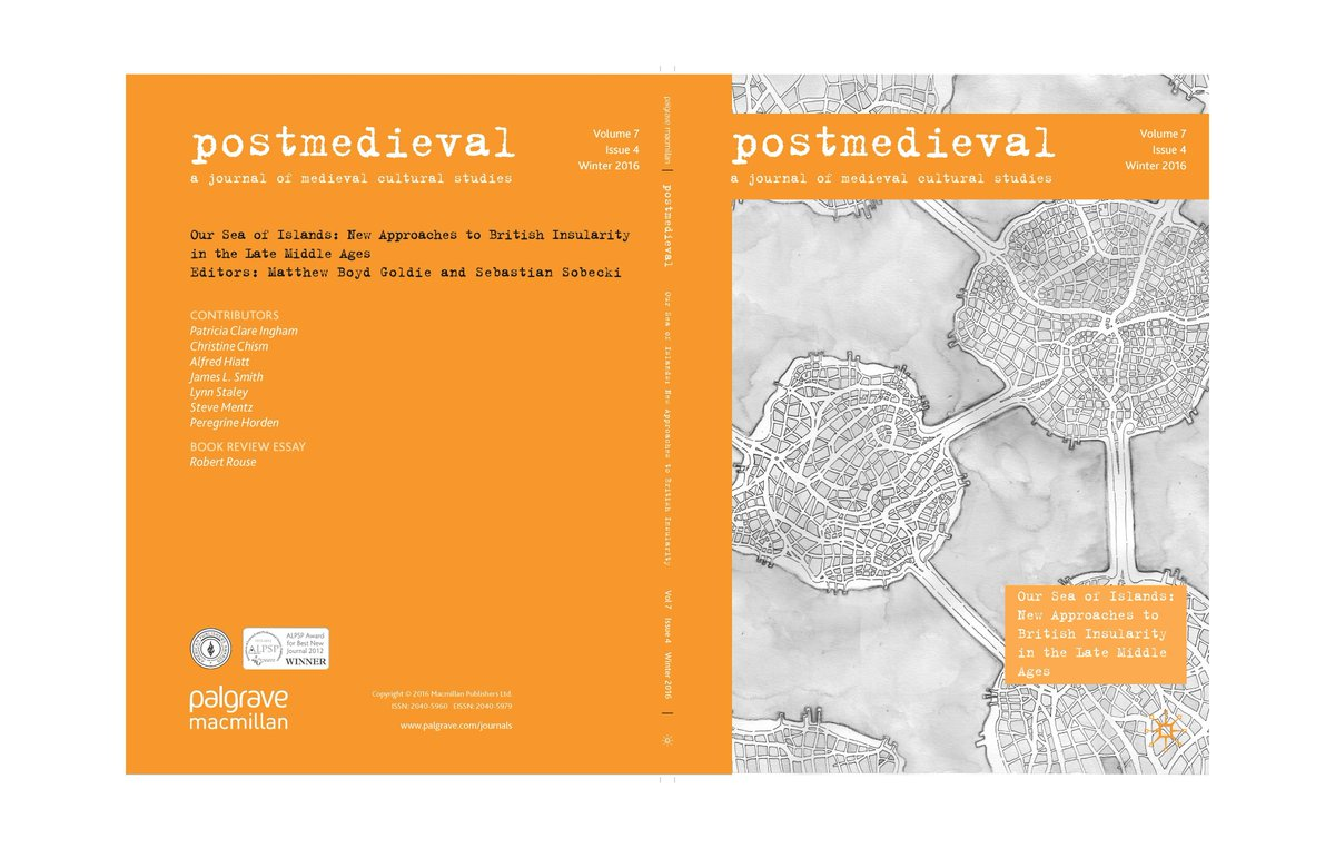 robert rouse rousemedieval twitter out new issue of postmedieval on our sea of islands new approaches to british insularity in the late middle ages