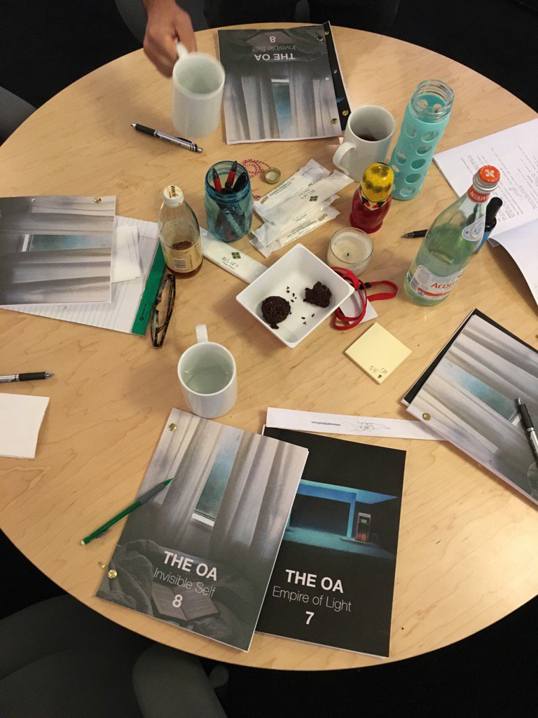 2 yrs daydreaming and 6 months in the writers' room on #TheOA / find out what's inside these scripts Friday @Netflix https://t.co/45NvsE2tu9