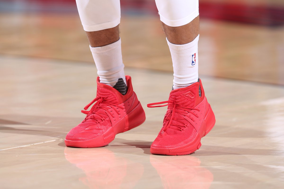 save off c3923 a3422 Inspired by the moments that built his career early on Damian Lillard  debuts the adidas Dame