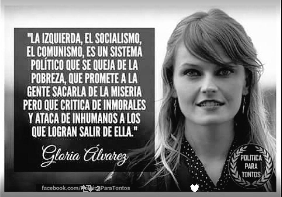 "Resultado de imagen de GLORIA ALVAREZ FRASES"""