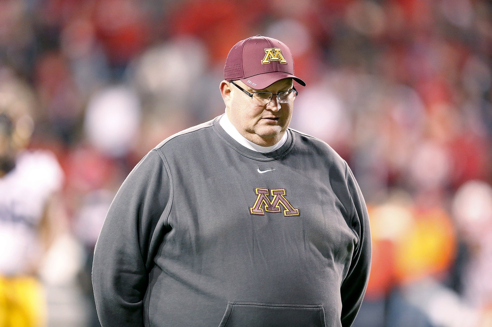fire gophers coach tracy - HD2000×1333