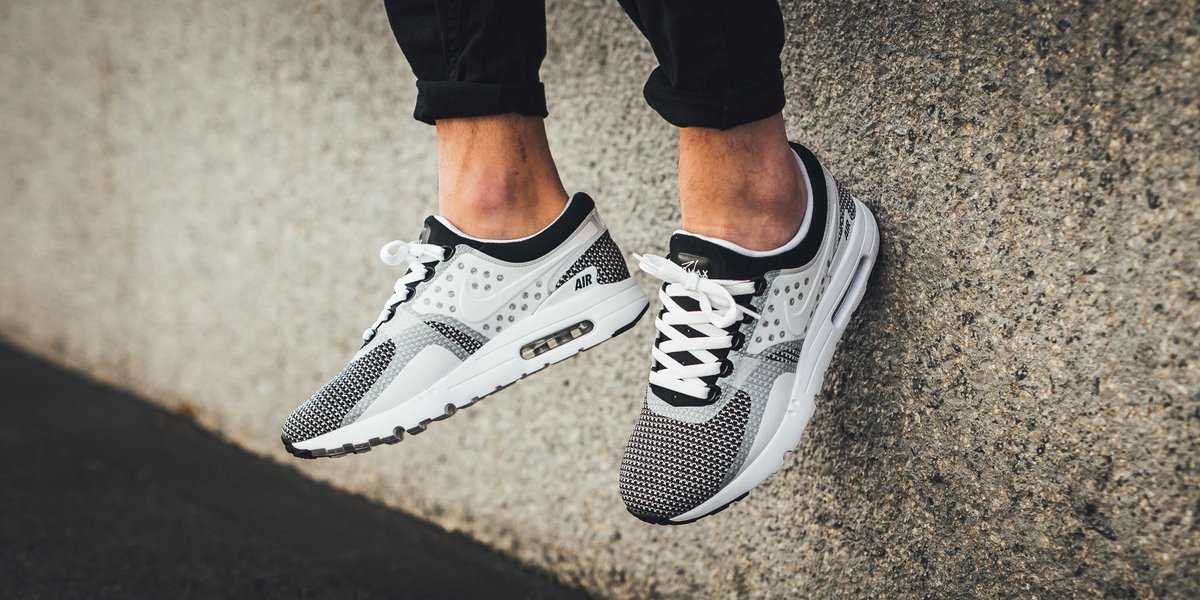 cheap for discount 0f083 bd797 ONLINE NOW! Nike Air Max Zero Essential - Black White-Wolf Grey SHOP HERE ▷  http   bit.ly 2gIeYu5  nike  airmaxzeropic.twitter.com NyKmmWyD10