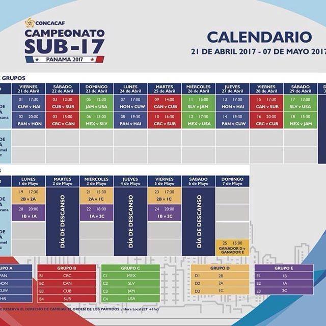 SUB-17 CONCACAF 2017 - Eliminatorias a Copa Mundo 2017. Czmy5sTUsAE1dqy