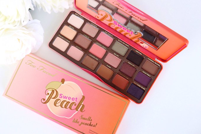 Sweet Peach Eye Shadow Palette