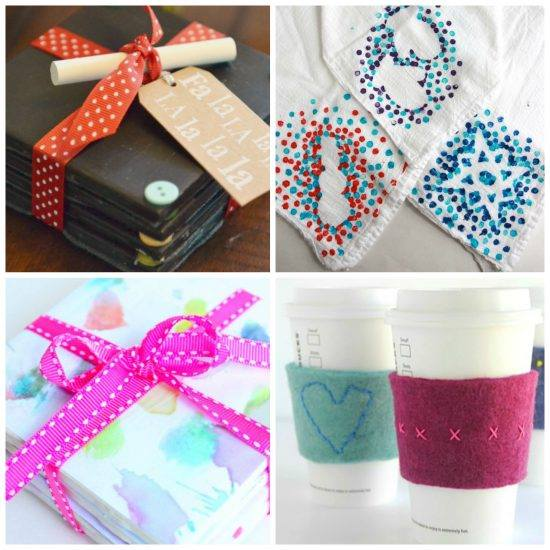 15 Holiday Gift Giving Ideas Kids Can Make