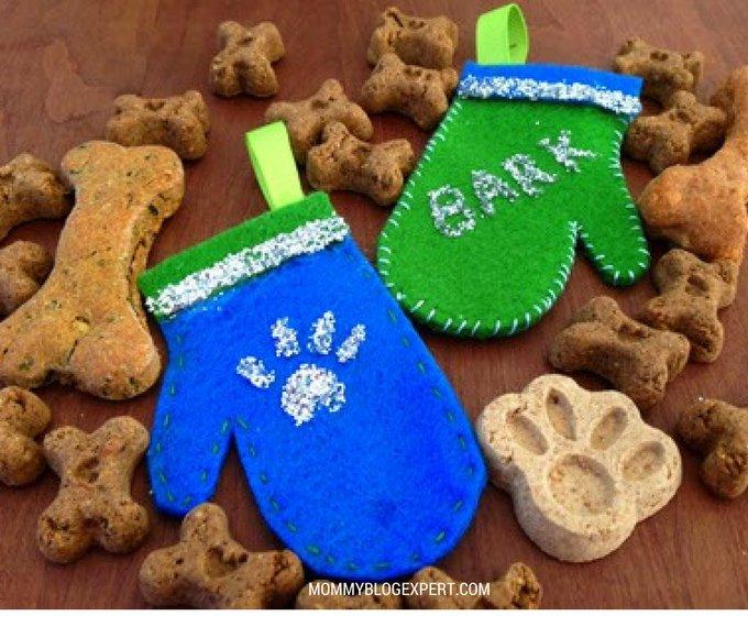 Dog Mitten Holiday DIY Ornament Inspired by #FebrezeHoliday