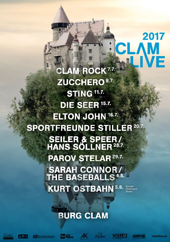 New #57thAnd9th show added at CLAMLIVE in Austria on 11 July. Ticket info and details at https://t.co/lIZBYa3KNx https://t.co/FnGjbJFCUZ