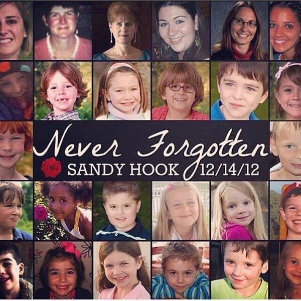 Four years ago today. #SandyHook