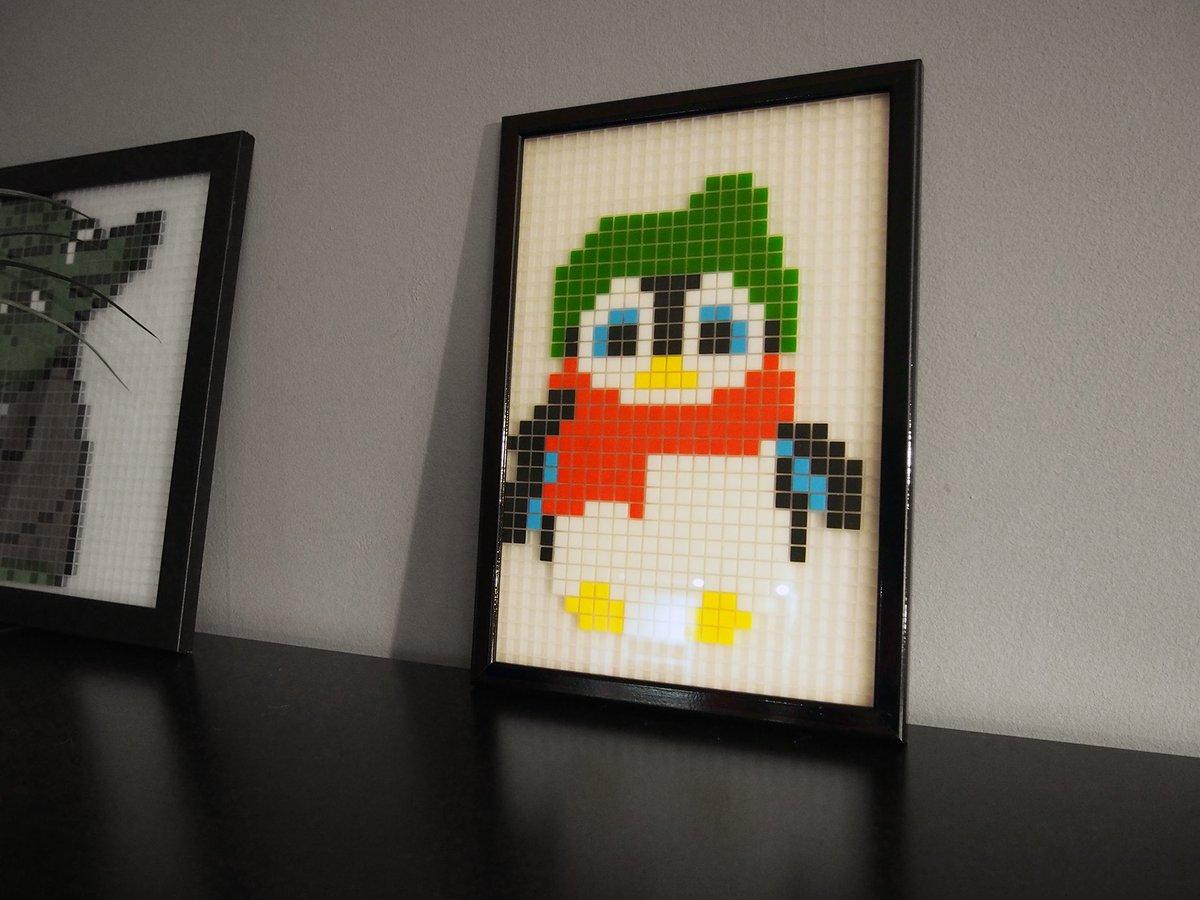 Manufacture Du Pixel Auf Twitter Un Petit Pingouin De Noël