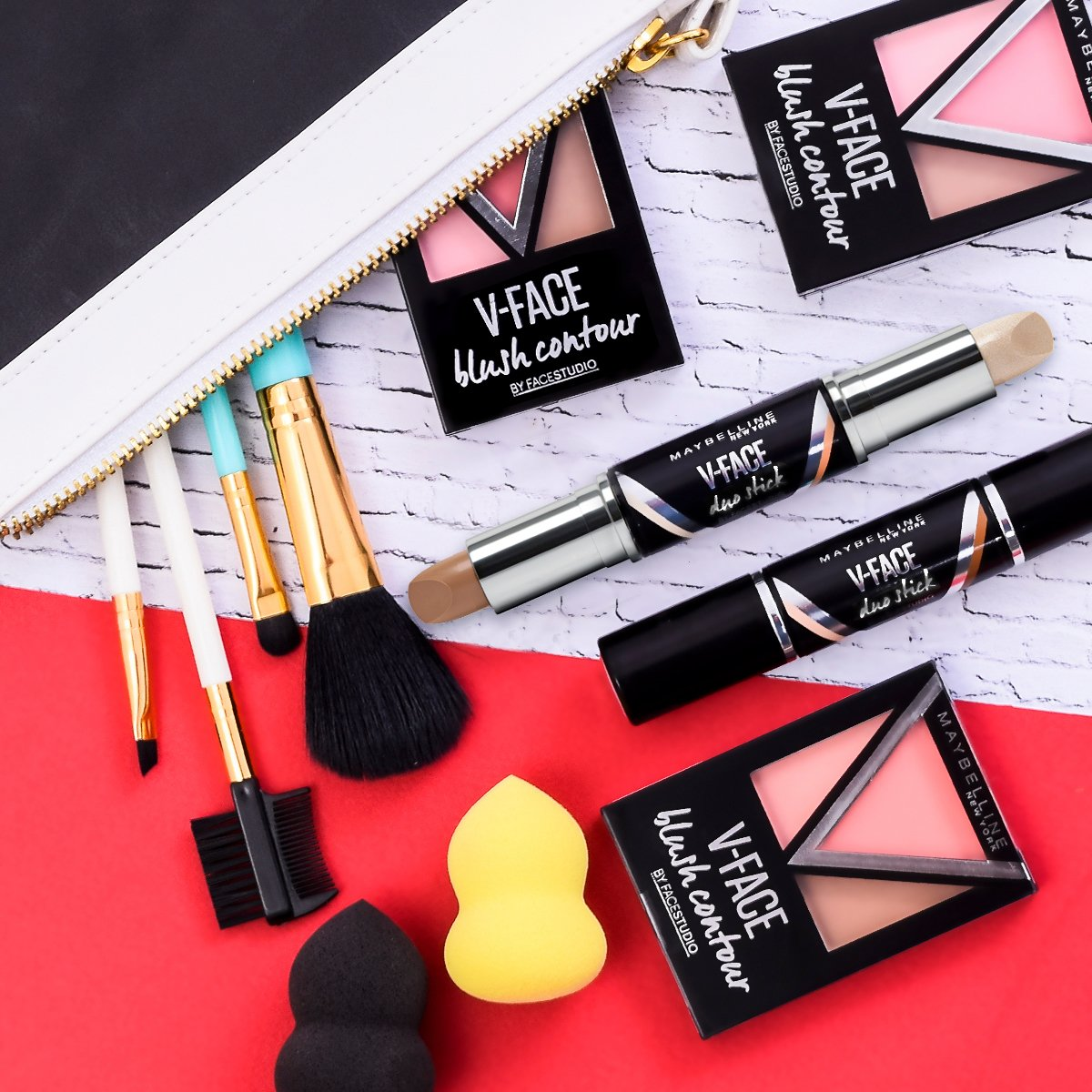 Maybelline Indonesia On Twitter The Easy Trendiest Sculpted Face Meyne V Is Perfect For Your Tgif Night Sudah Coba Duo Stick Blush Contour