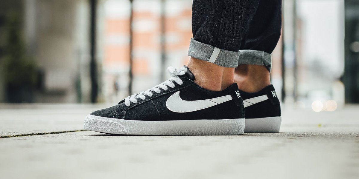 Nike SB Sb Blazer Zoom Low - Black/White-Gum Light Brown SHOP HERE:  https://t.co/TXUp55Y1dj…