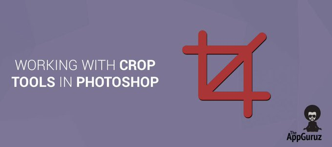 Working With #Crop #Tools in #Photoshop