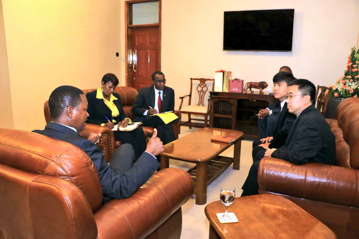Dr alfred mutua on twitter with reps from china railway for China railway 13 bureau group corporation