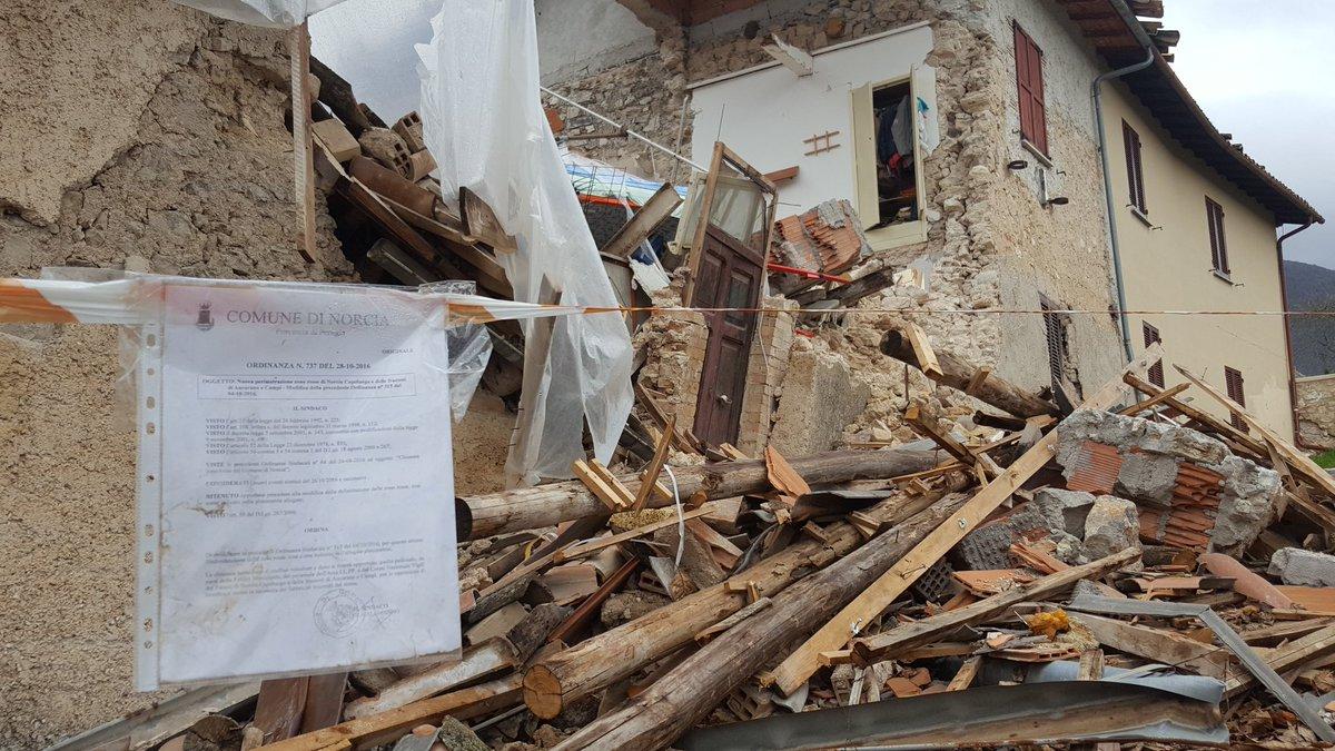Vigilia di Natale: 4 mesi dal Terremoto M6 del 24 agosto in Centro Italia