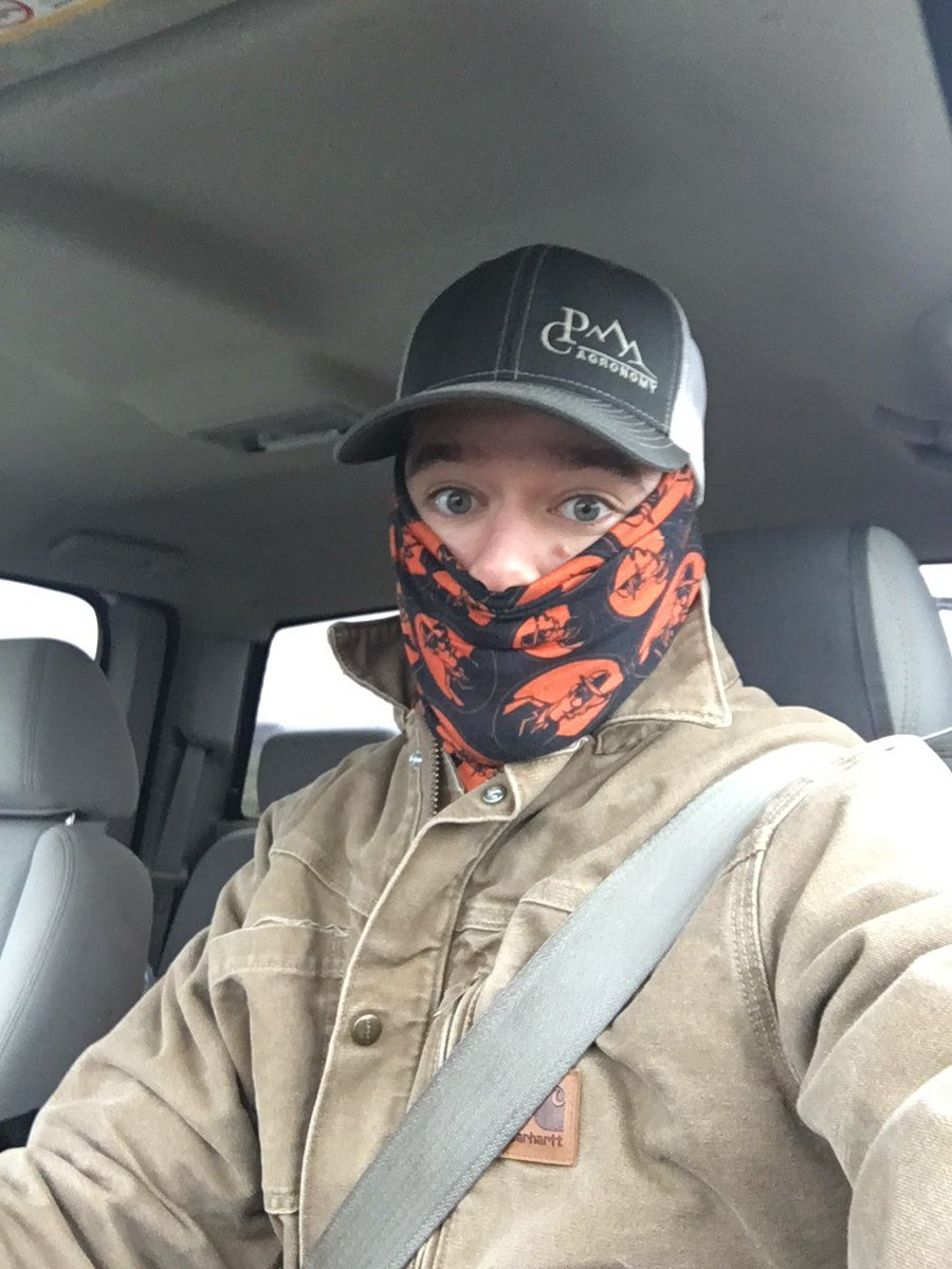 Cold weather calls for lots of layers when checking fields! #OrAg #Agronomist #PratumCoop <br>http://pic.twitter.com/yDWfSLMnmk