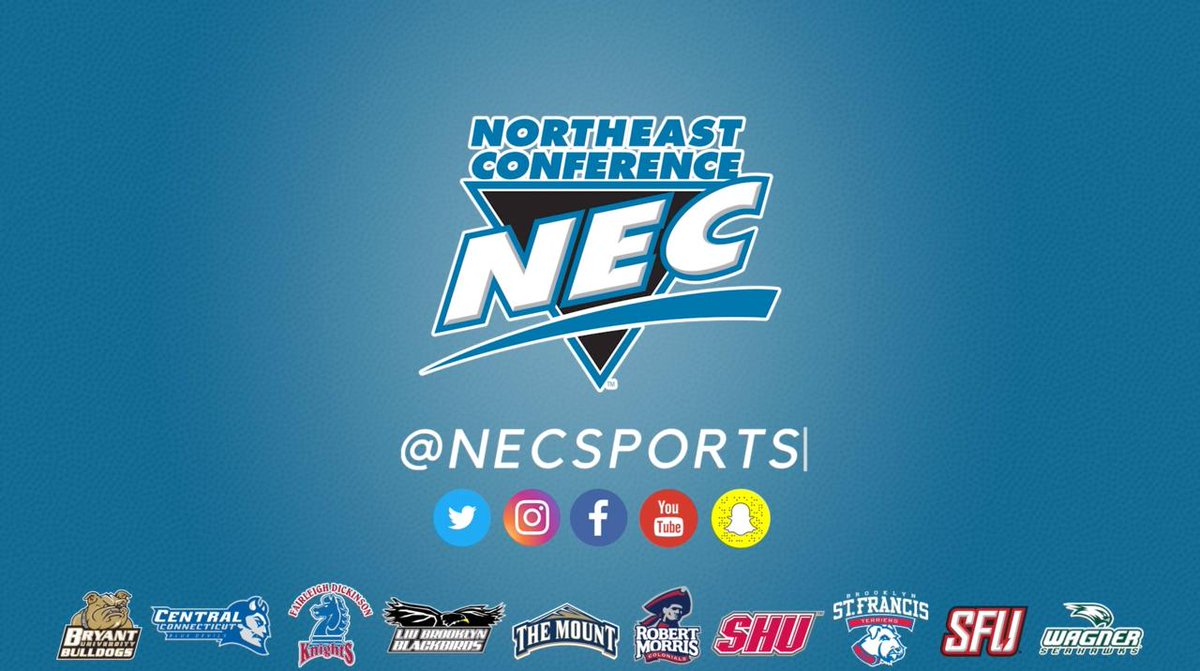 I am a NEC Student-Athlete... this is the road I travel... https://t.co/C8awTcP9wx