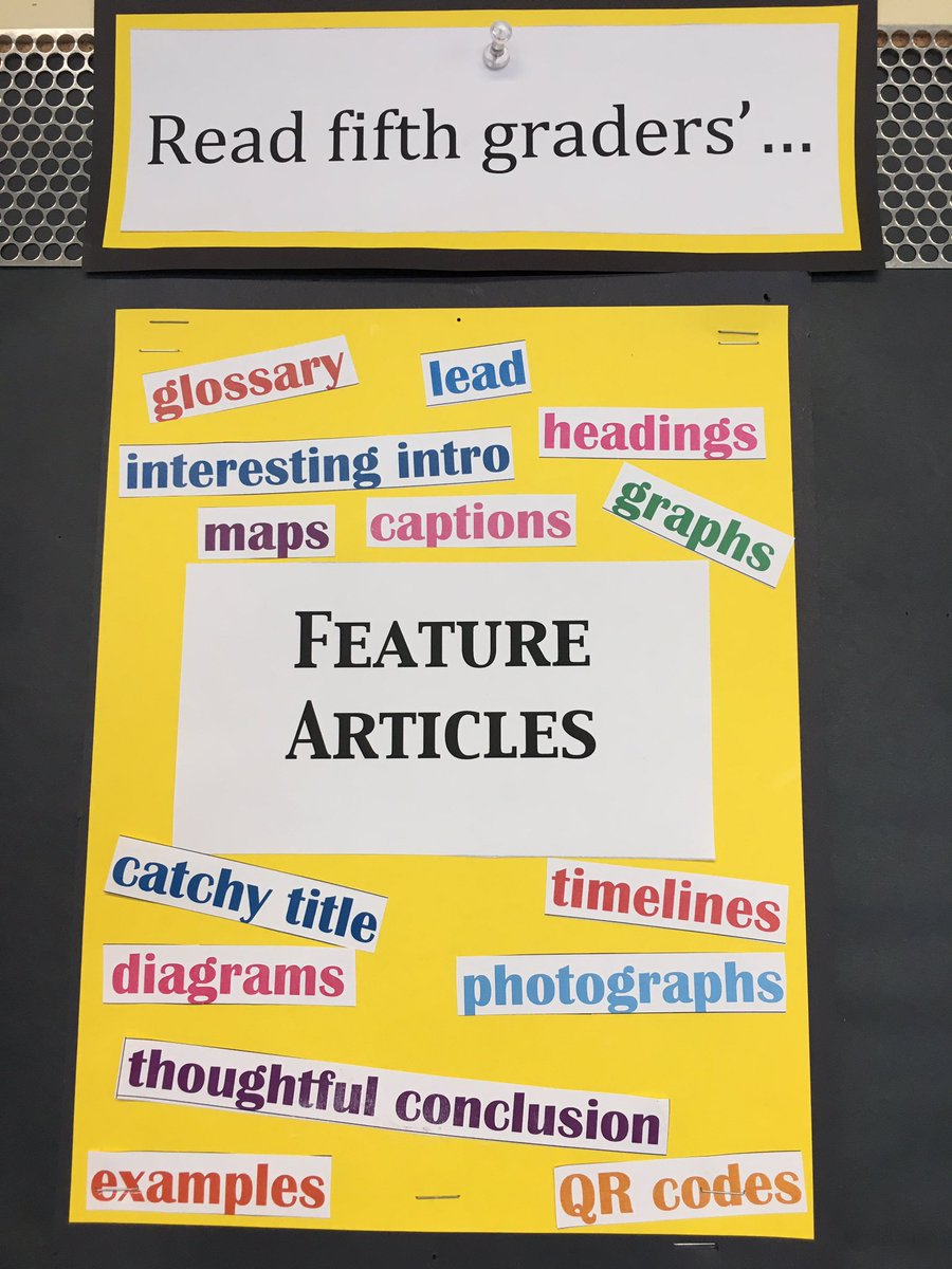 how to write a great feature article