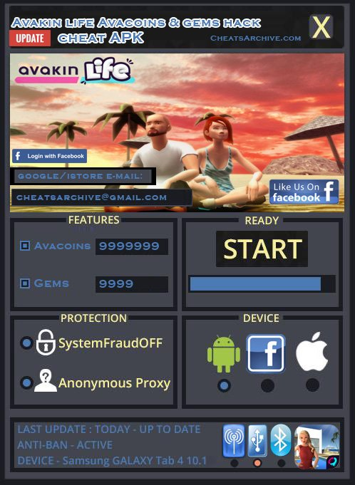 Gamers Unite!: Tips & Cheats: New Avakin Life hack gems and