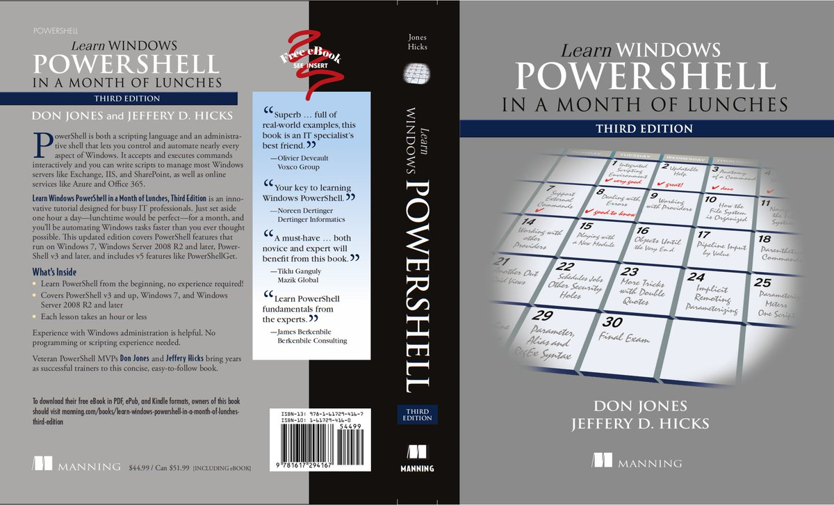 Learn #PowerShell in a Month of Lunches 3rd ed has GONE TO PRESS!! https://t.co/FnP12jOfOW https://t.co/ihVUGwyfXW