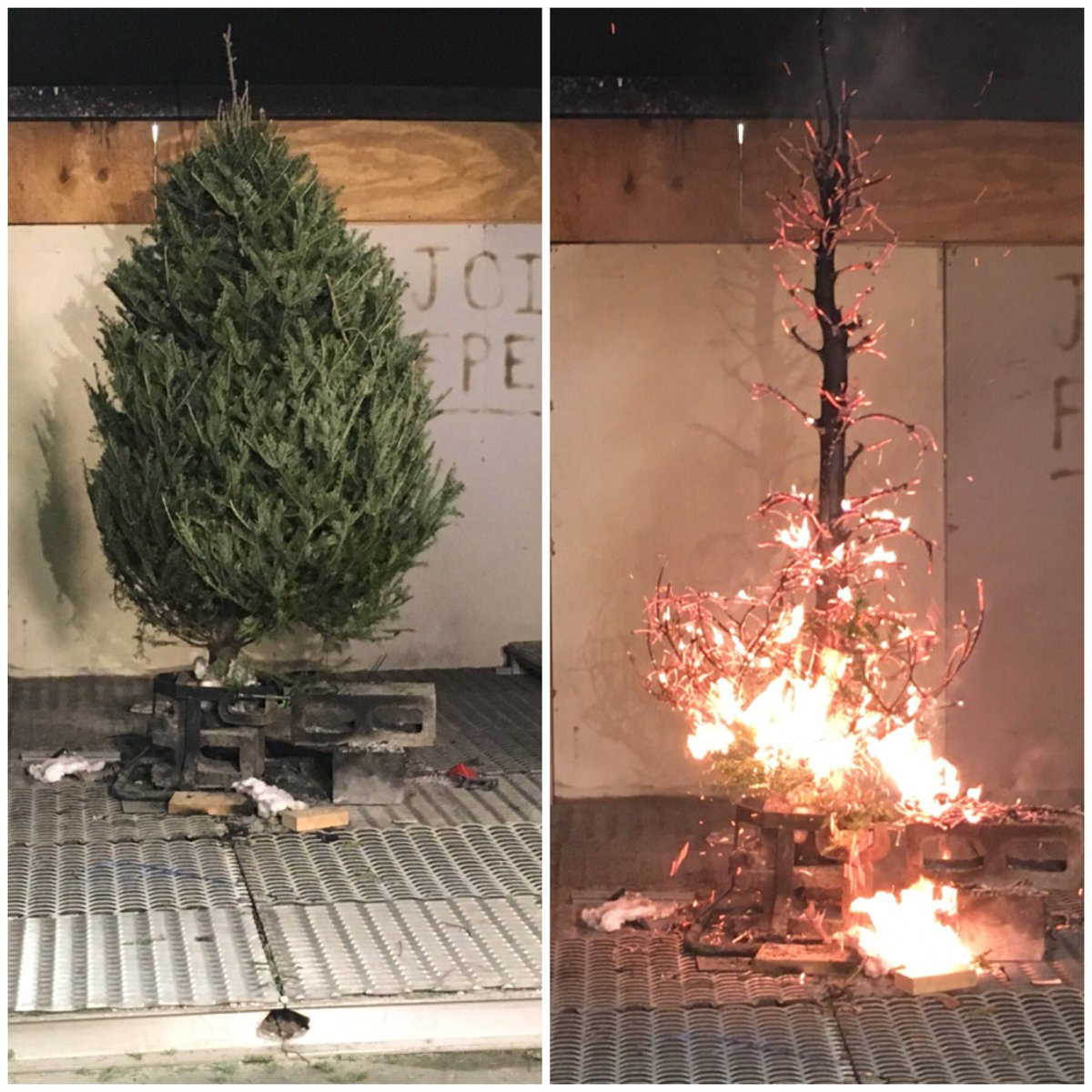 Mikea Turner On Twitter Christmas Tree Fires Are Five Times More