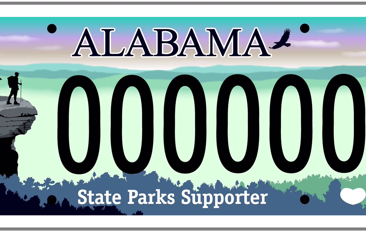 Alabama Car Tags >> Alabama State Parks On Twitter Excited 2 Announce State