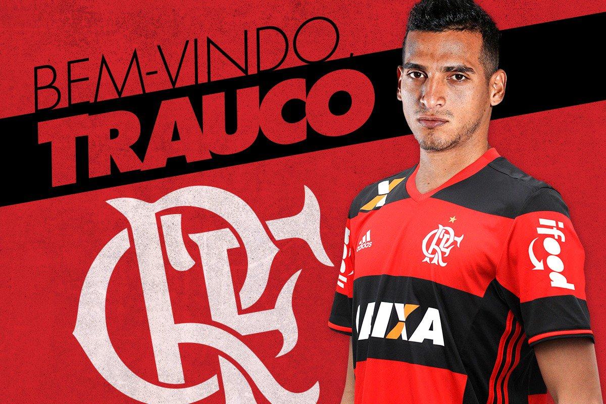 Miguel Trauco é o primeiro reforço do Flamengo para a temporada 2017. Bem-vindo! Saiba mais: https://t.co/QiGcPuVmgr