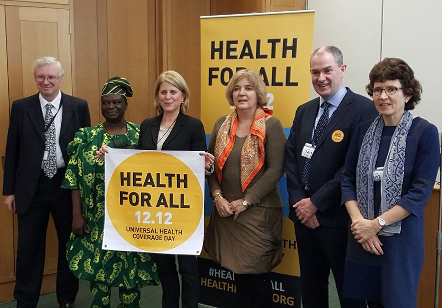 Thanks @resultsuk, @save_children, @HealthPoverty + more for such a useful event marking Universal Health Coverage Day #UHCDay #HealthForAll https://t.co/MDiAuvYDp8