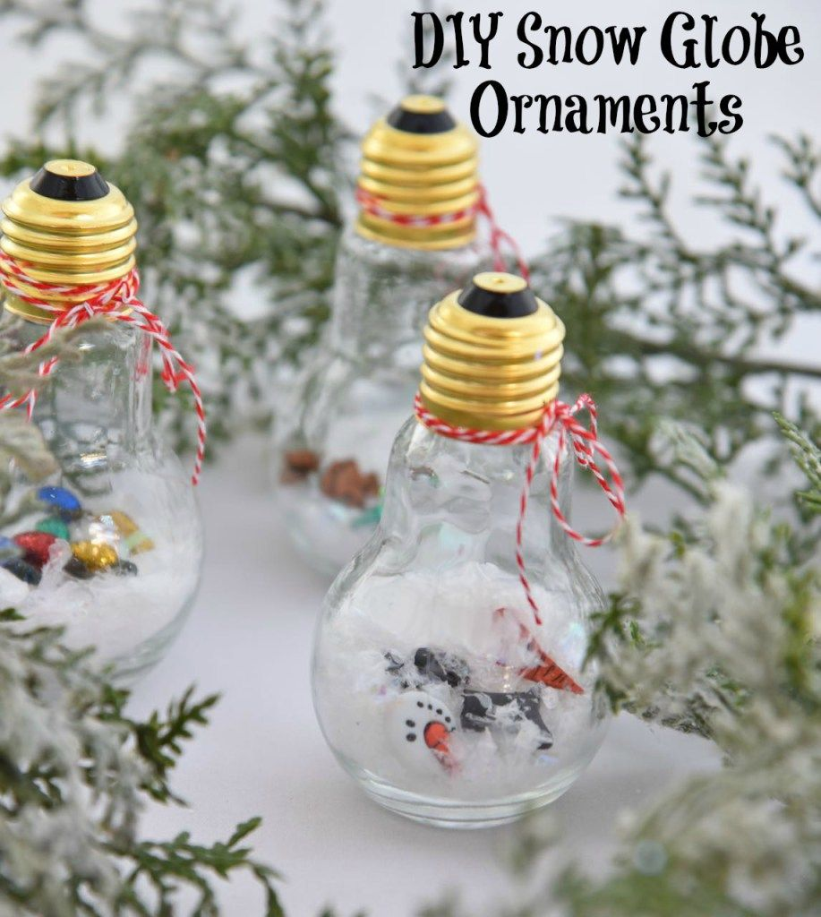 DIY Snow Globe Ornaments https://t.co/8POI42XyF0 #HolidayHal @Voya #ad https://t.co/TBEXUQF8vj