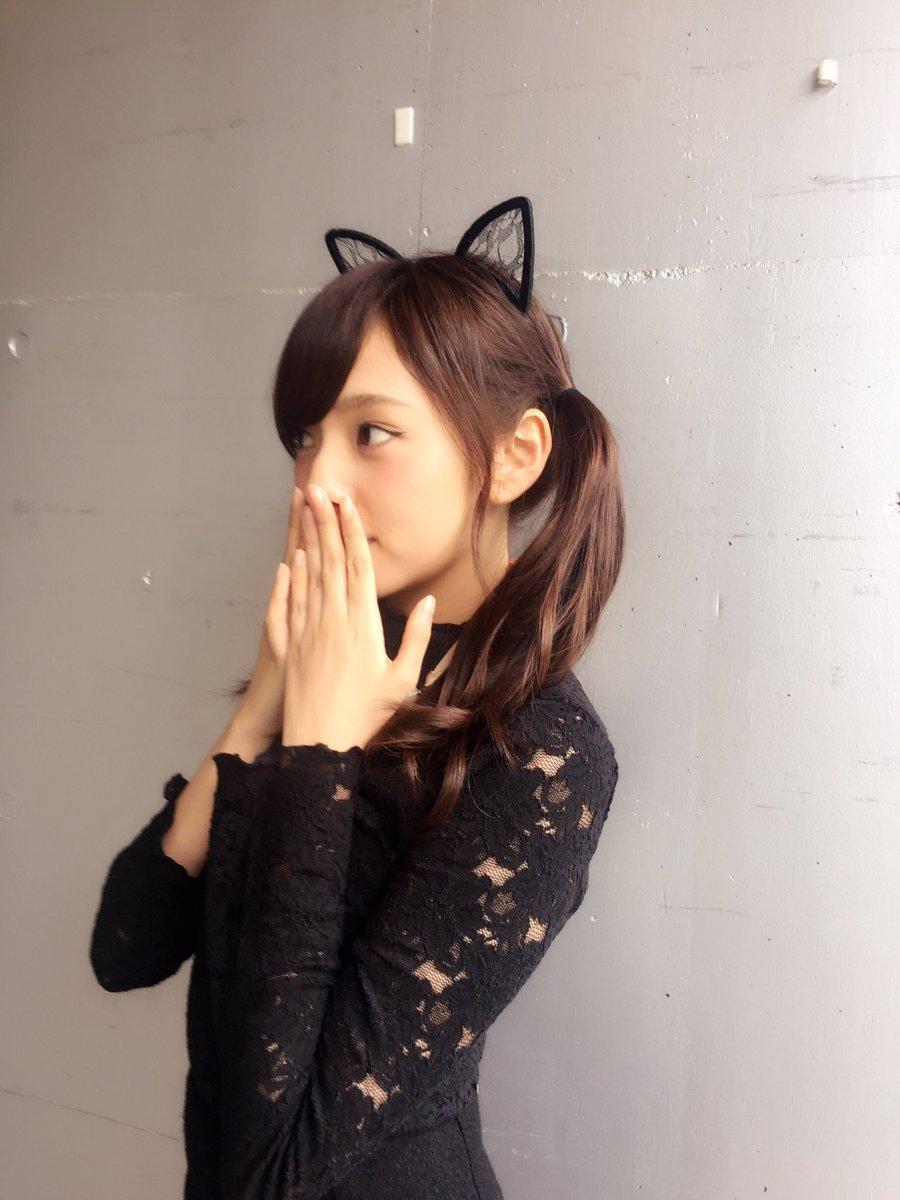 猫耳が可愛い新内眞衣
